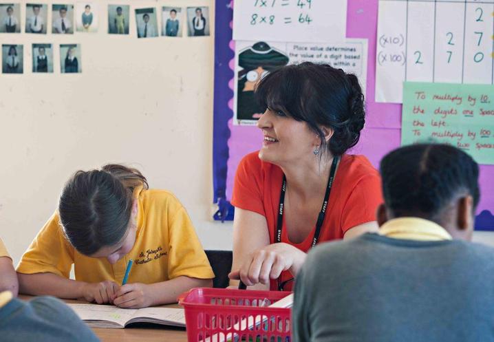 Miss Fitzpatrick, Y5 teacher/RE Leader