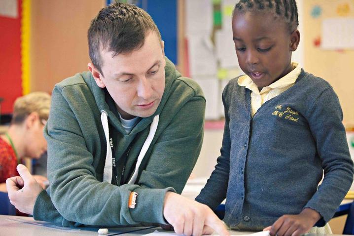 Mr Turner, Y2 teacher/PE Leader
