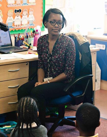 Miss Gordon, FS2 teacher/DT Leader