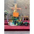 Our Harvest Liturgy display in St Joseph's Church