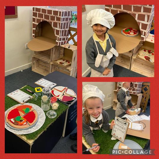 We've had so much fun making Pizza for our customers in our garden restaurant!