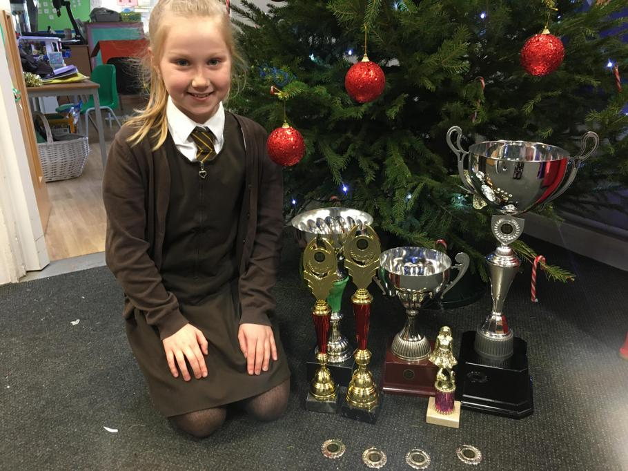 Heidi competes in Irish Dancing competitions- Wow!