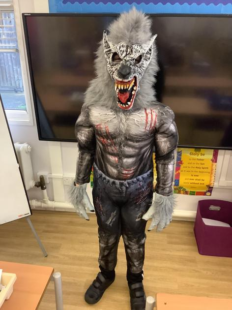 Werewolf from Goosebumps