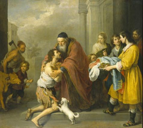 Prodigal Son by Bartolomé Esteban Murillo