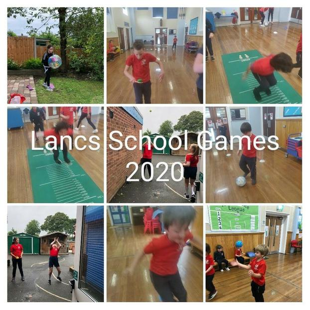 The whole school took part at home and in school.