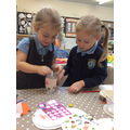 We made a 'Kindness Jar' to fill with pom-poms...