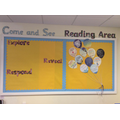 Come and See and reading area