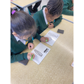 In maths we have been learning how to multiply.