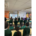 We all attended a virtual Mass for St Joseph's Feast Day.