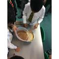 Science- rice crispies