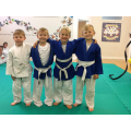Class One enjoying after school Judo lessons.