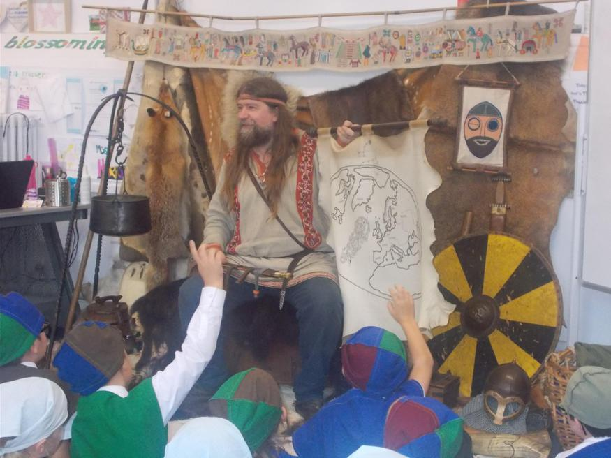 Viking Day Class 3 and 4
