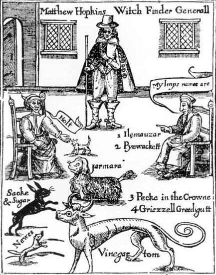 Witch-hunter Matthew Hopkins