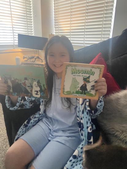 Moomins books for Christmas!