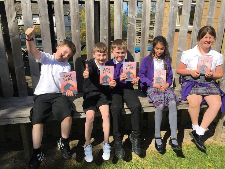 Class copies of the Last Bear by Hannah Gold