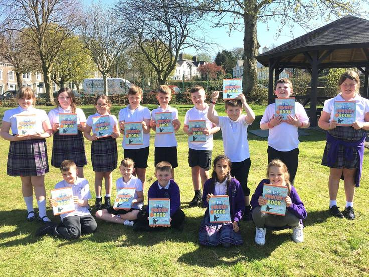 Skiddaw with their free Unworry books