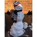 Super snowman Daniel