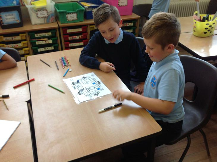 Times table work- playing games