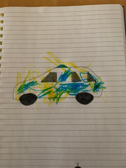 A fantastic Police car