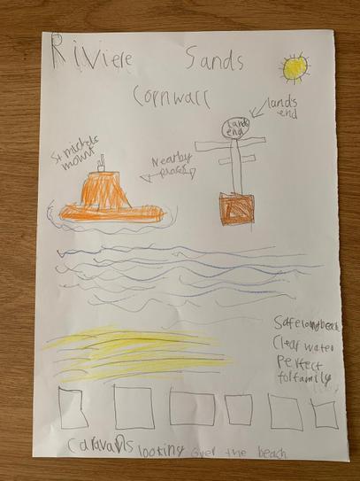 Rhys' seaside poster
