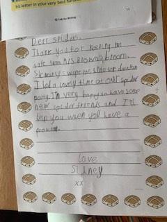 Autumn's letter