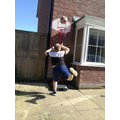 Playing more basketball!