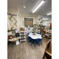 Writing Area & Phonics Area