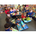 World book day, we enjoyed our favourite books