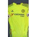 Chelsea Goalkeeper's jersey worn by Asmir Begovic