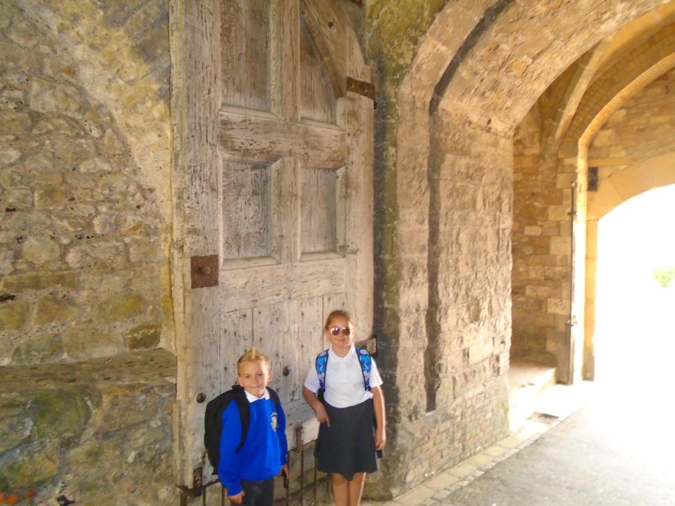 Heading for the Portcullis