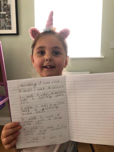 Super writing Daisy!