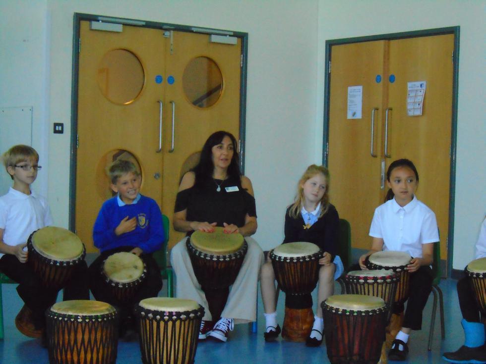 African drumming