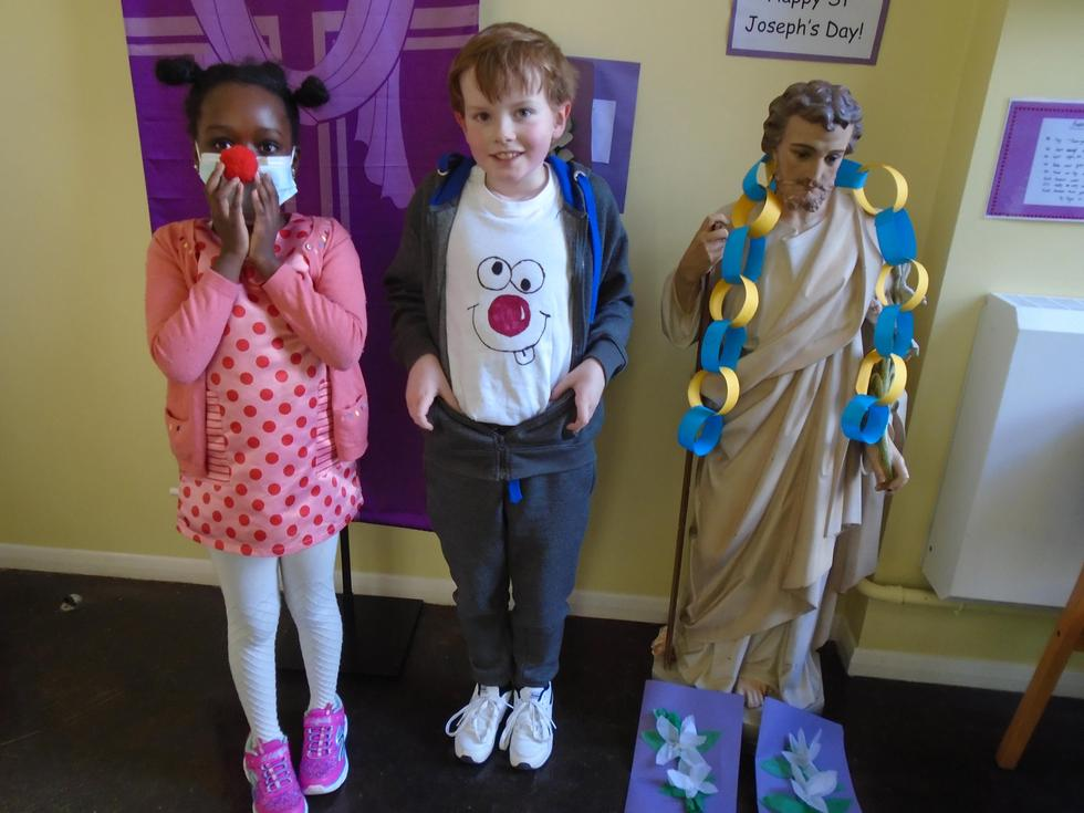 First St Joseph's Day & Red Nose Day