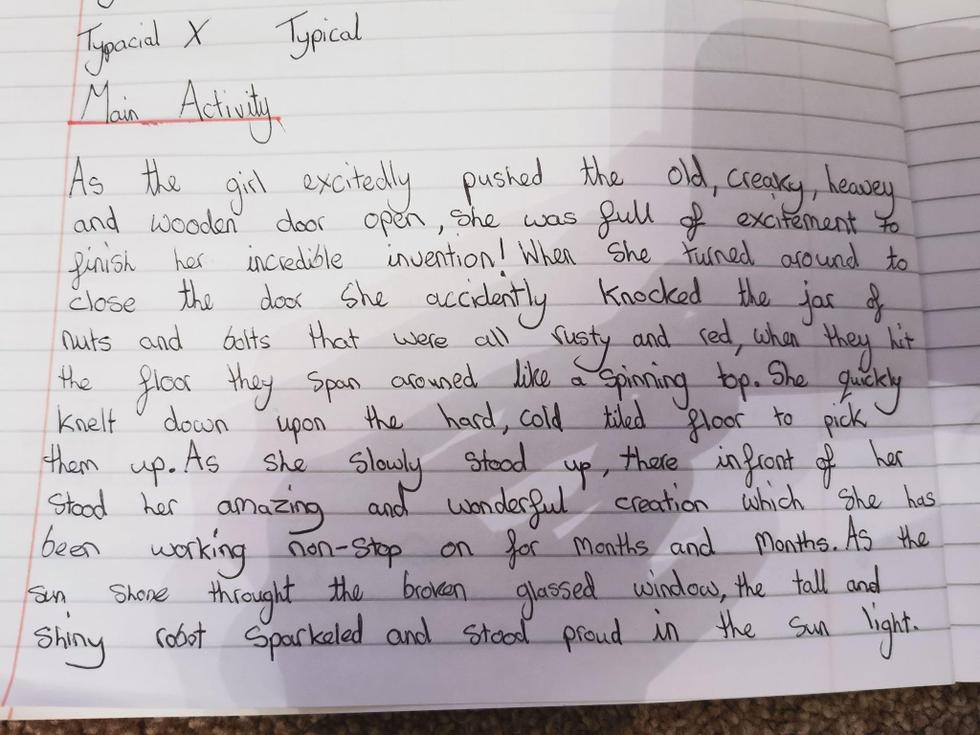 Fabulous writing by Tegan