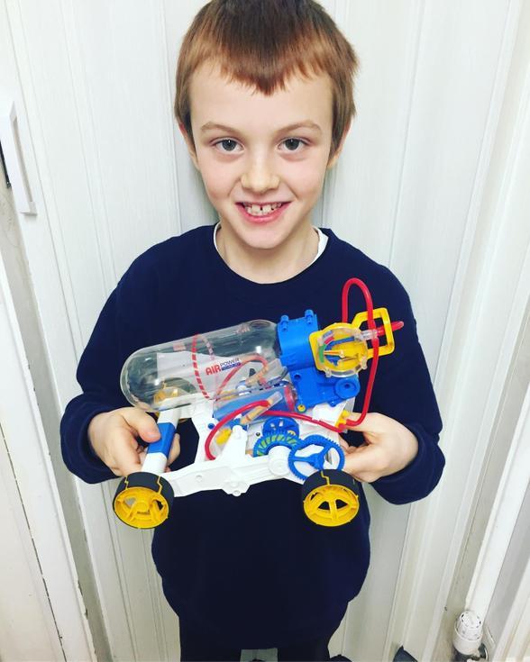 Engineering - making an air powered car
