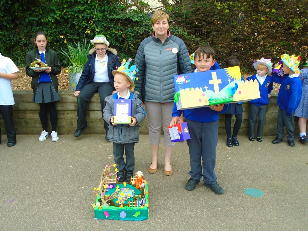 Easter Garden Winners