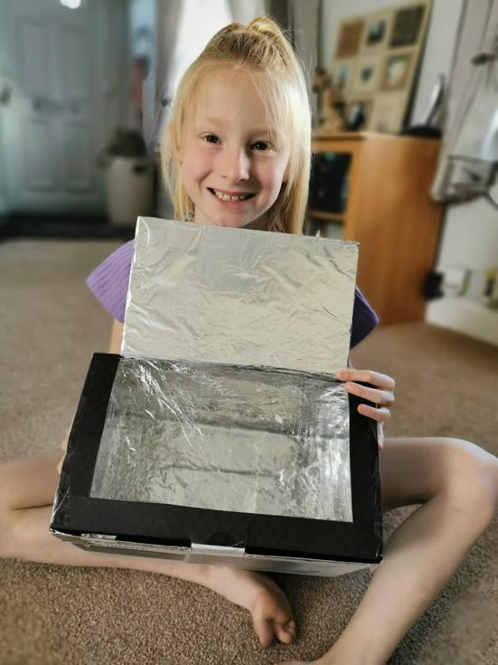 My very own solar oven