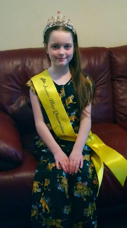 Junior Miss Quarantine Beauty 2020