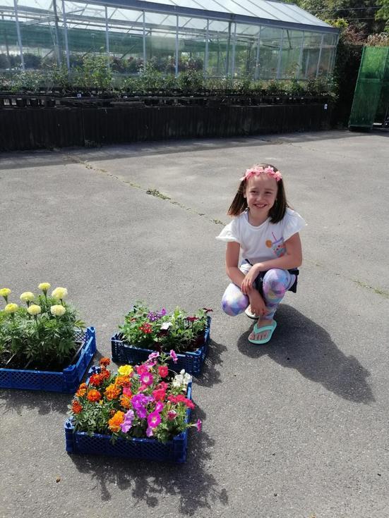 A long awaited trip to the garden centre