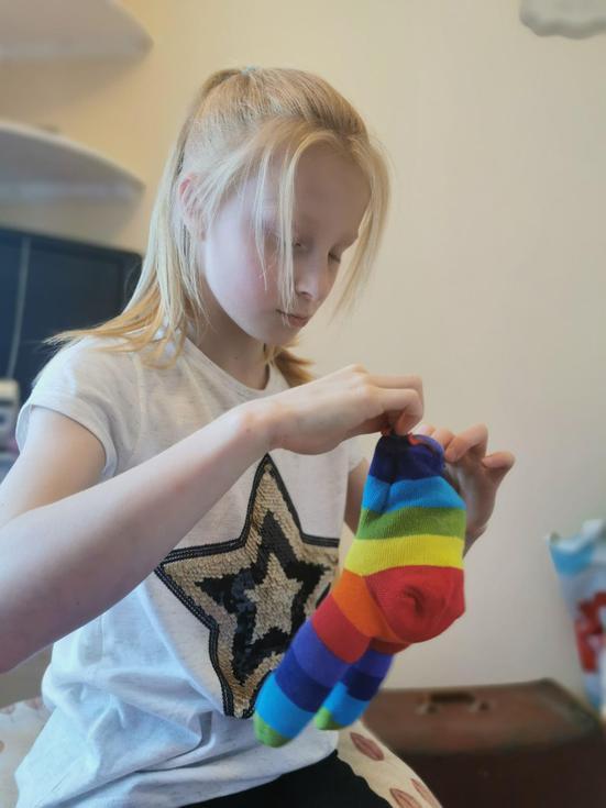 Time to make a sock giraffe