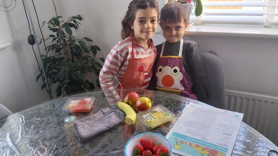 Kebab making begins
