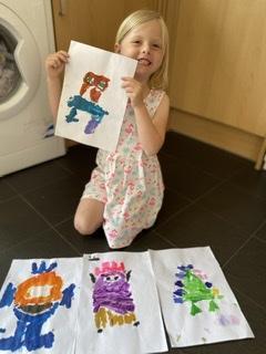 Pixie's Colour Monster art