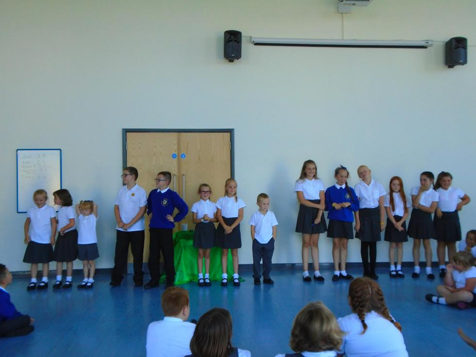 Choosing new house captains and class prefects