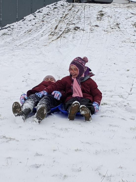 Then fun in the snow