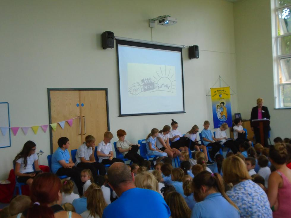 End of year assembly
