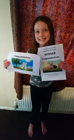 Enya won an Easter Competition
