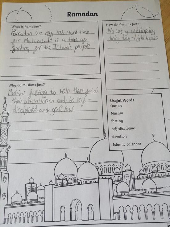 Ramadan Learning