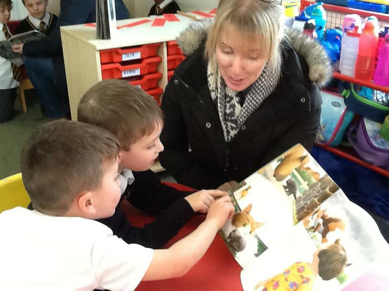 We loved sharing stories with our friends' mums!