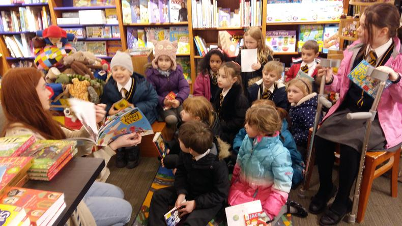 Sharing a story for World Book Day