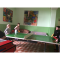 Table Tennis in the Noisy Room
